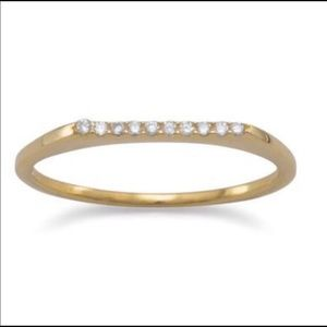Elegant Stackable Ring